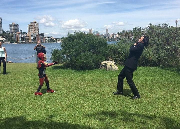 Este niño cumplió su sueño y fue Iron Man por un día. Mira lo que pasó 04