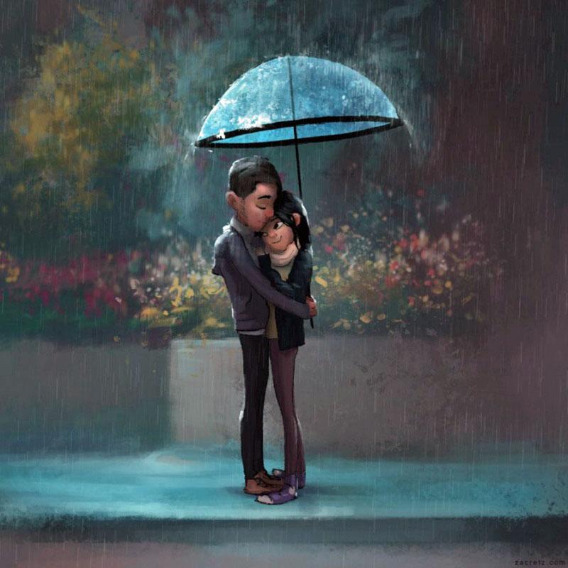 Ilustraciones que te harán enamorarte una y otra vez 02
