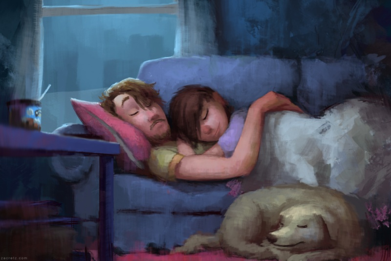 Ilustraciones que te harán enamorarte una y otra vez 04