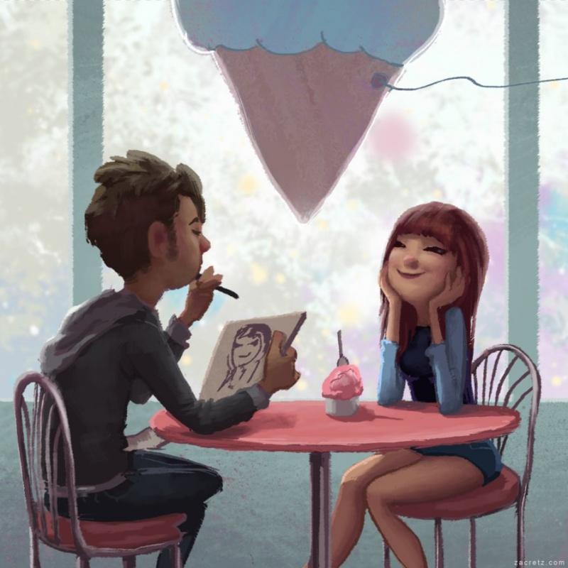 Ilustraciones que te harán enamorarte una y otra vez 07