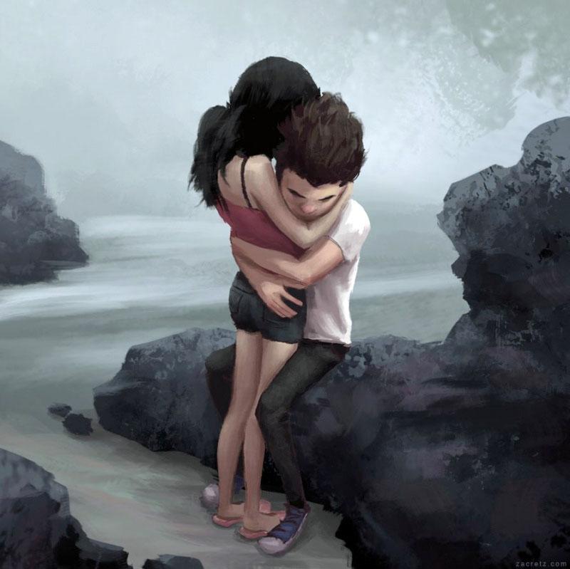 Ilustraciones que te harán enamorarte una y otra vez 11