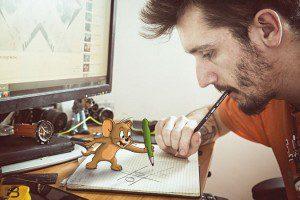 Jerry está de vuelta como doodle animado