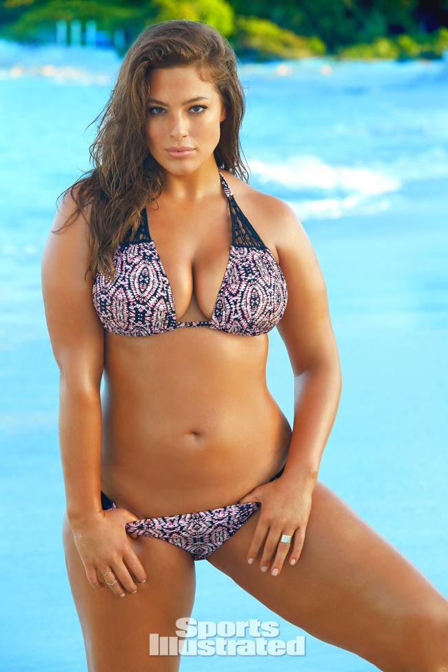 Modelo de talla grande aparecerá por primera vez en la portada de Sports Illustrated 02