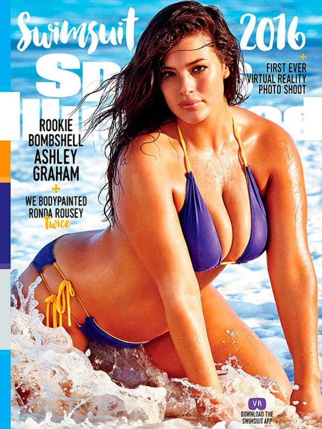 Modelo de talla grande aparecerá por primera vez en la portada de Sports Illustrated portada