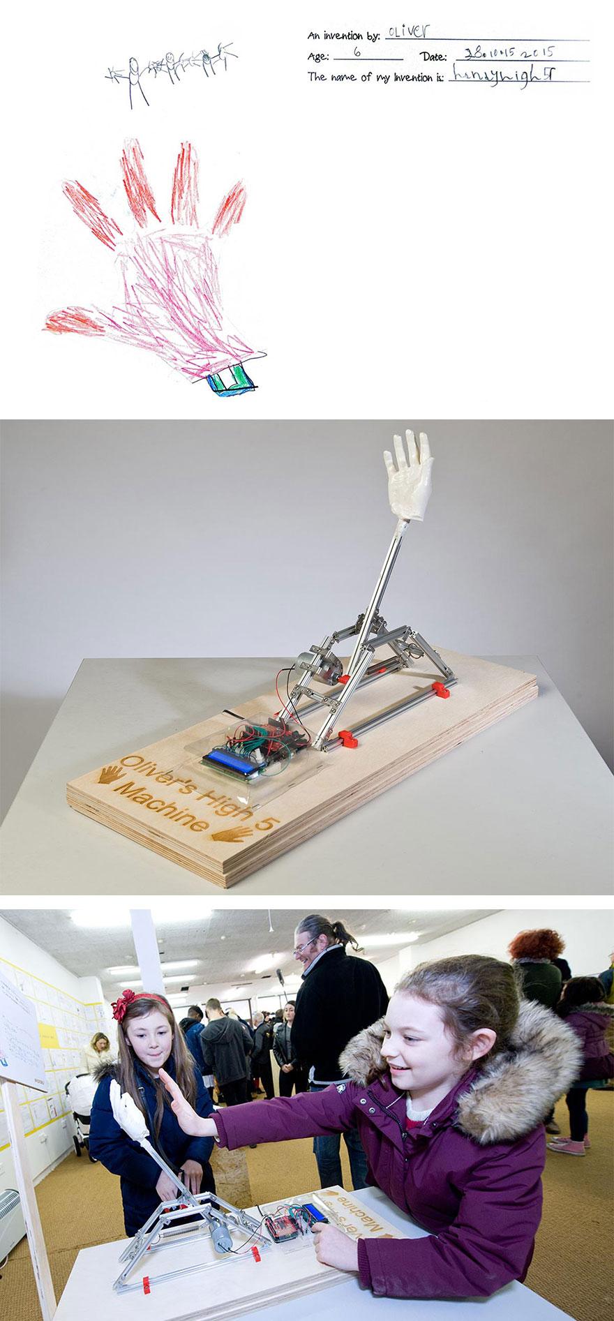 Originales inventos infantiles hechos realidad 11