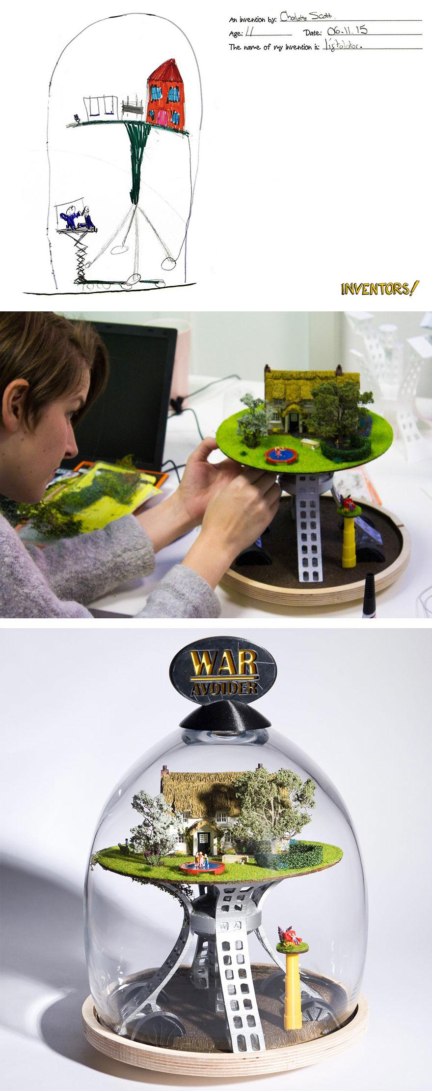 Originales inventos infantiles hechos realidad 12