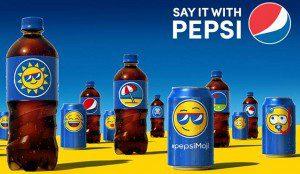 Pepsi revolucionará el mercado con emojis en sus bebidas
