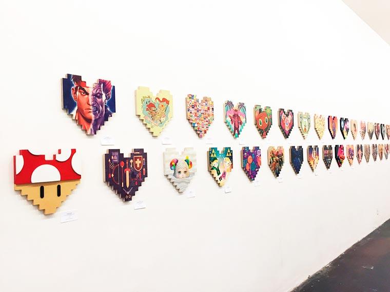 Pixel-Hearts