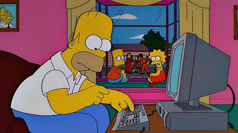 Qué le preguntarías a Homero Simpson de darse la oportunidad 02