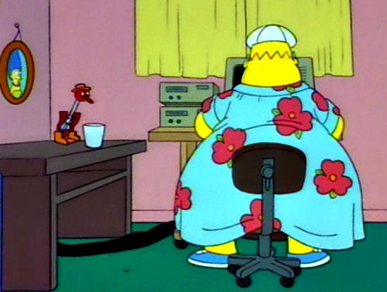 Qué le preguntarías a Homero Simpson de darse la oportunidad 03