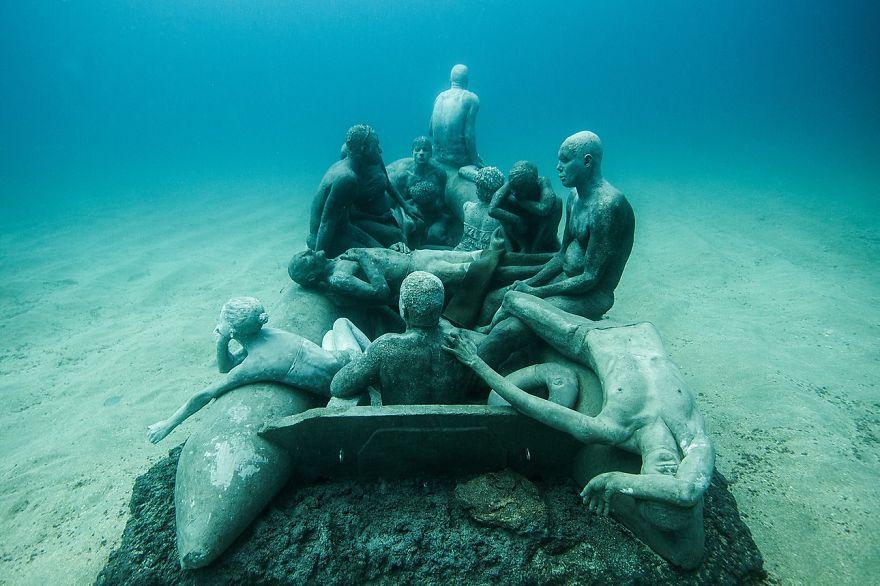 Un asombroso museo bajo el agua 02