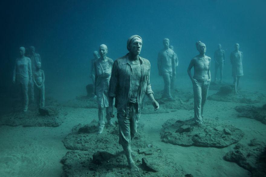 Un asombroso museo bajo el agua 03