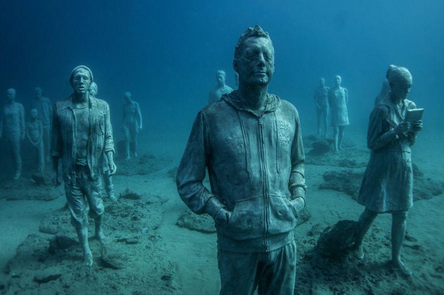 Un asombroso museo bajo el agua 04