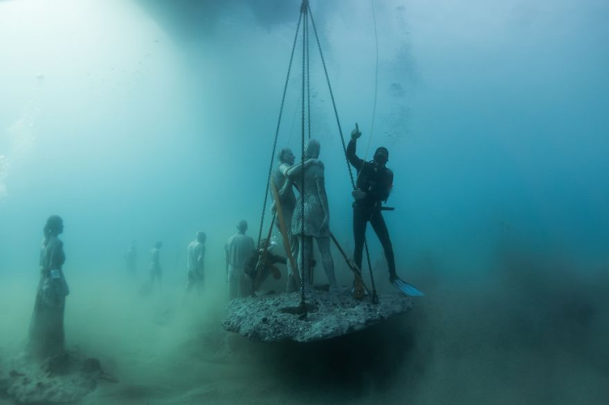 Un asombroso museo bajo el agua 05