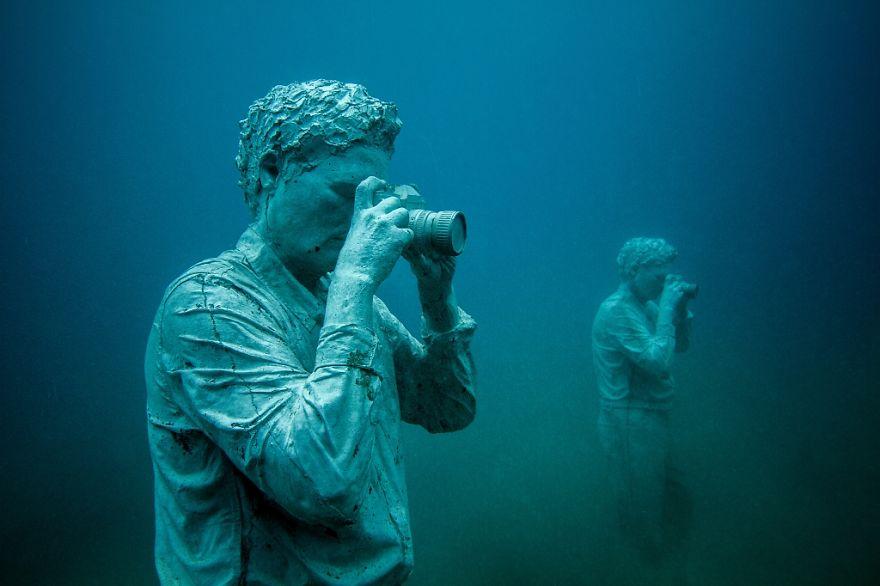 Un asombroso museo bajo el agua 06