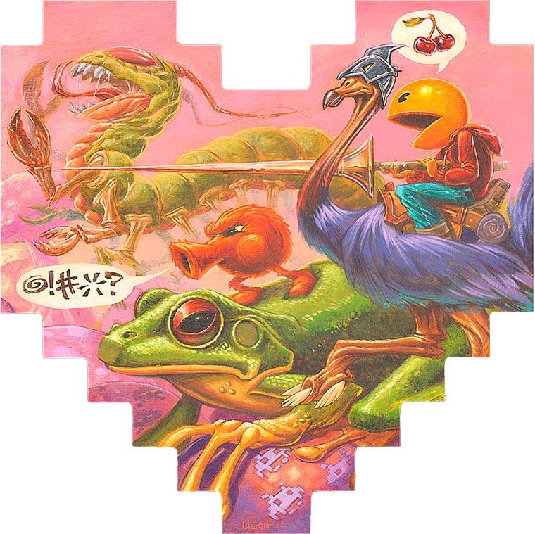 Un sentido homenaje en 8 píxeles a conocidos personajes del mundo de los videojuegos 03