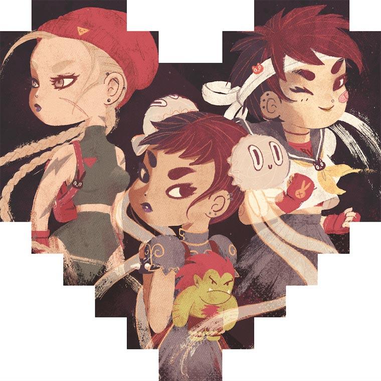 Un sentido homenaje en 8 píxeles a conocidos personajes del mundo de los videojuegos 07