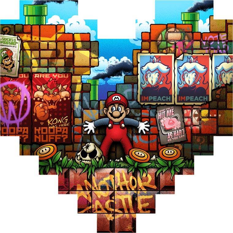 Un sentido homenaje en 8 píxeles a conocidos personajes del mundo de los videojuegos 08