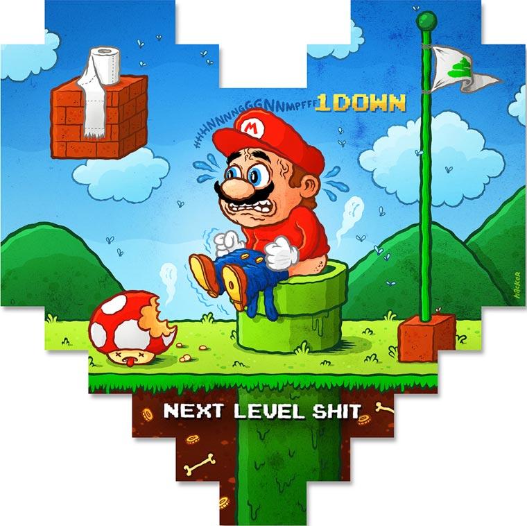 Un sentido homenaje en 8 píxeles a conocidos personajes del mundo de los videojuegos 09