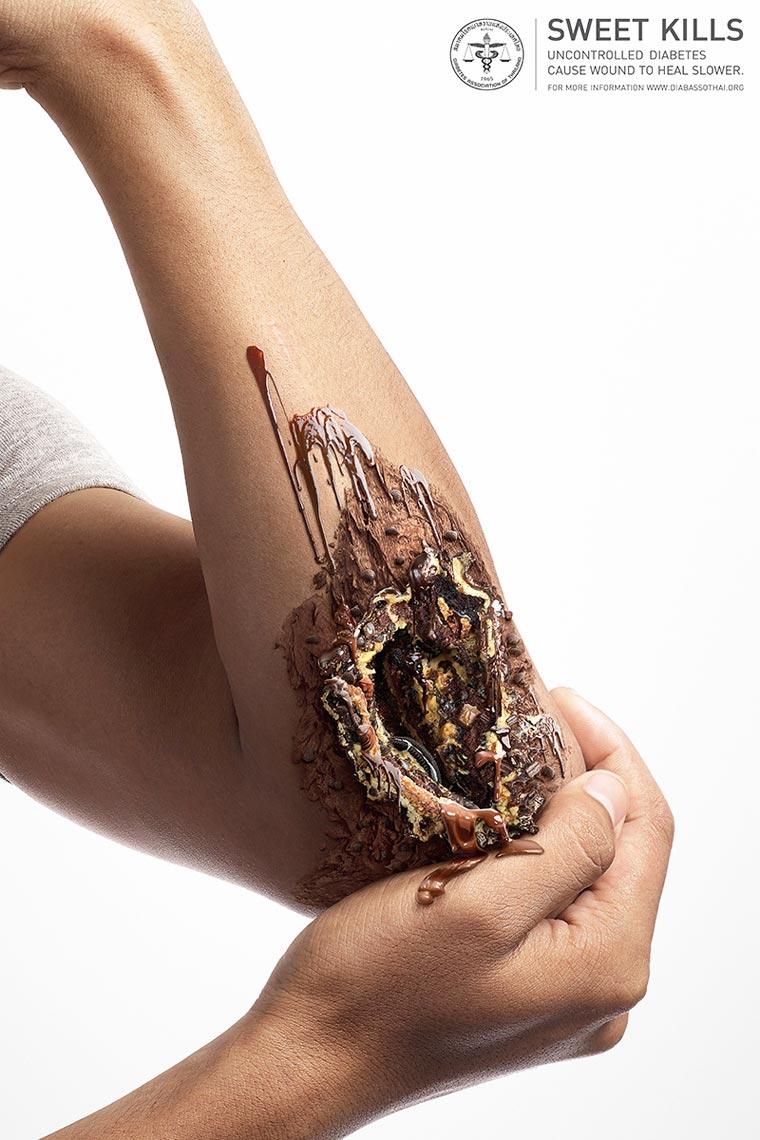 Una Campaña contra la diabetes que golosamente te impactará 04