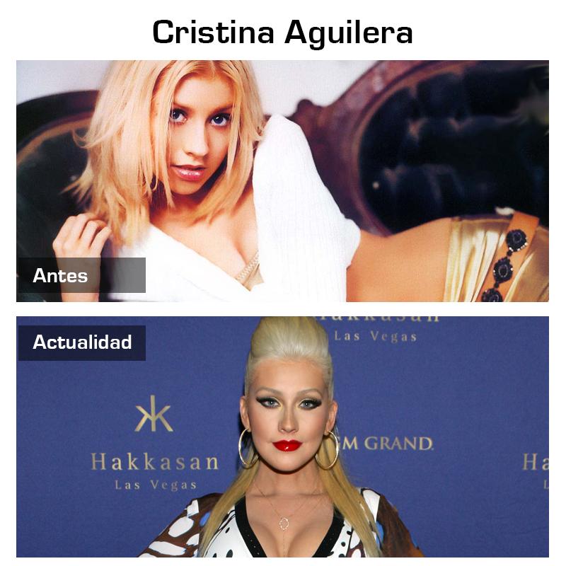 antes_y_despues_cantante_pop_cristina_aguilera