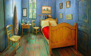 El dormitorio de Van Gogh a la venta