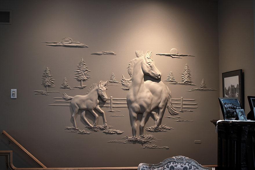 esculturas yeso-masilla bernie mitchell 01