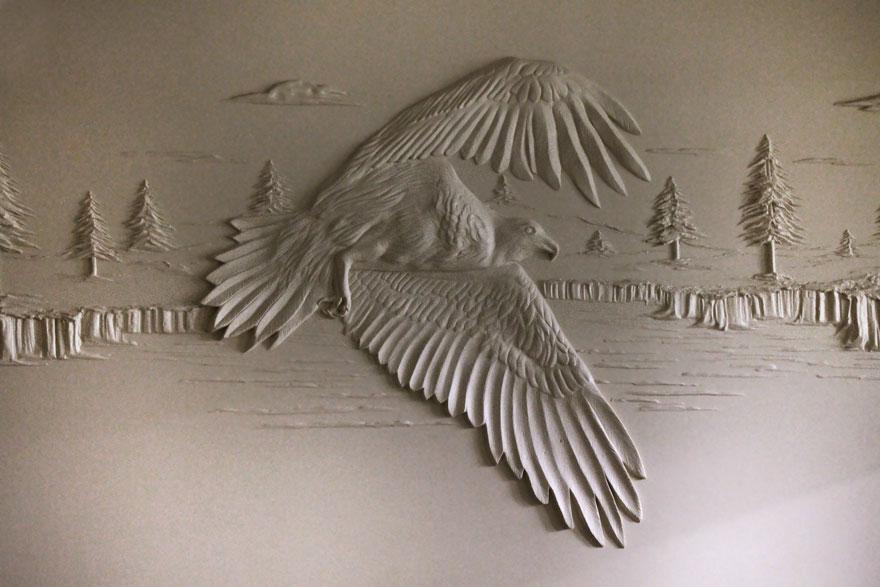 esculturas yeso-masilla bernie mitchell 02