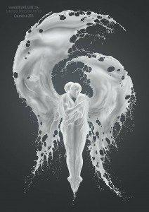 Mira estas fotografías de seres celestiales a base de leche
