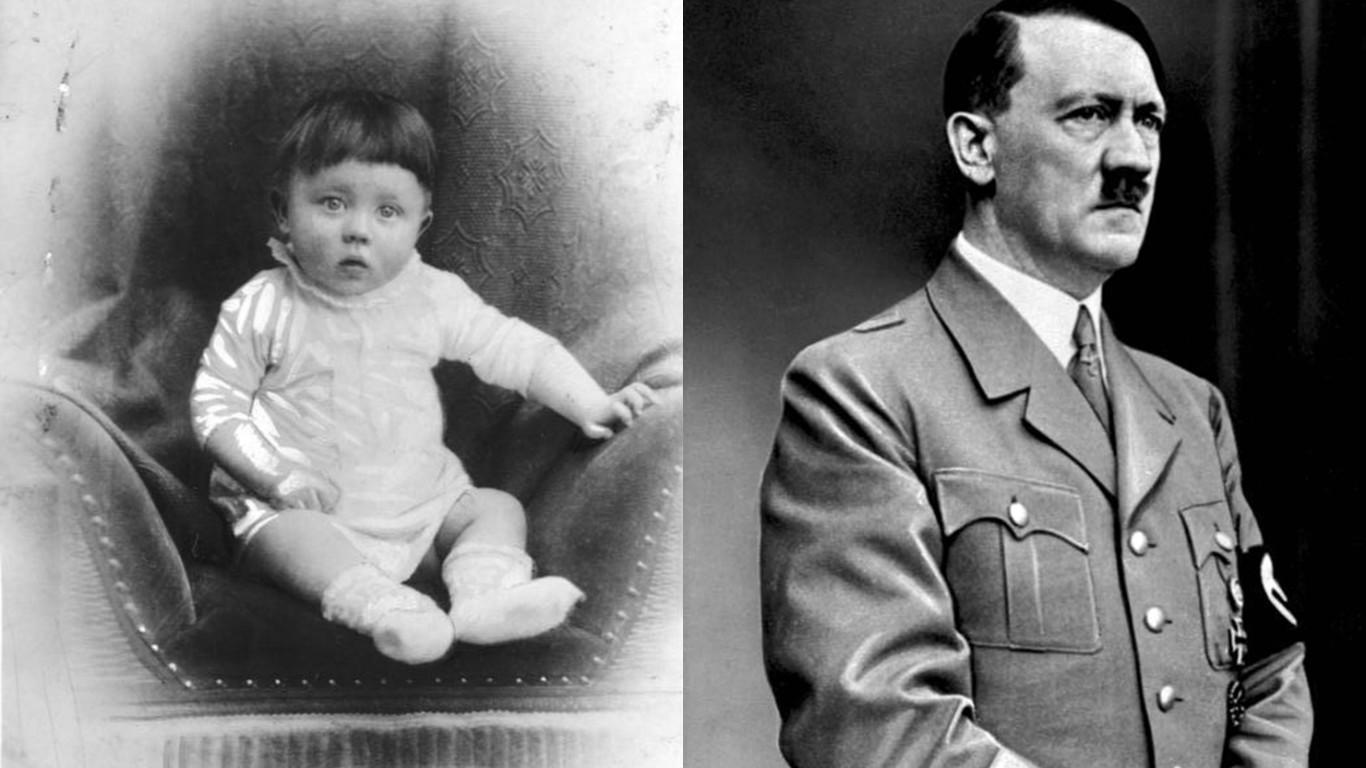 Mira como lucían de niños 5 de los hombres más crueles de la historia