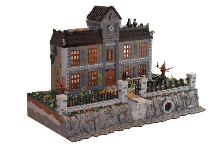 lego Arkham Asylum de Batman 01