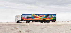 Arte Callejero Plasmado en Camiones