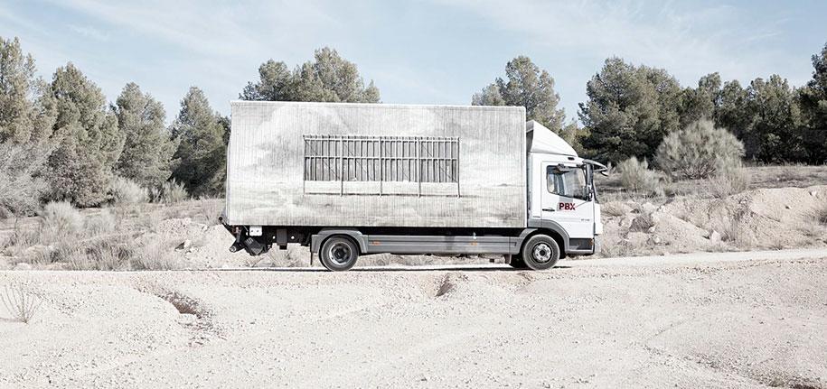 arte callejero plasmado en camiones 4