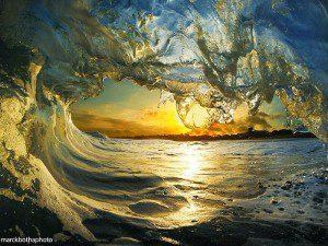 Fotos extraordinarias de olas únicas