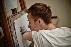 Un increíble caso de superación en donde el arte se convierte en sanador