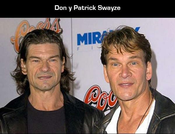 15 hermanos de famosos que tal vez no conocías swayze