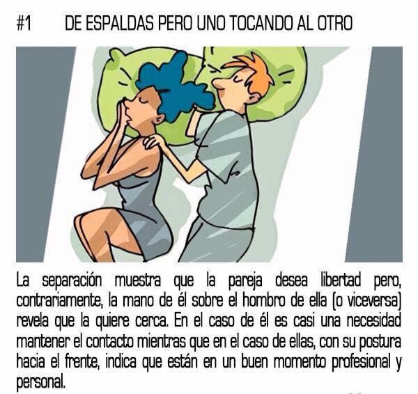 10 posturas mientras duermes que reflejan tu relación sentimental con tu pareja 01