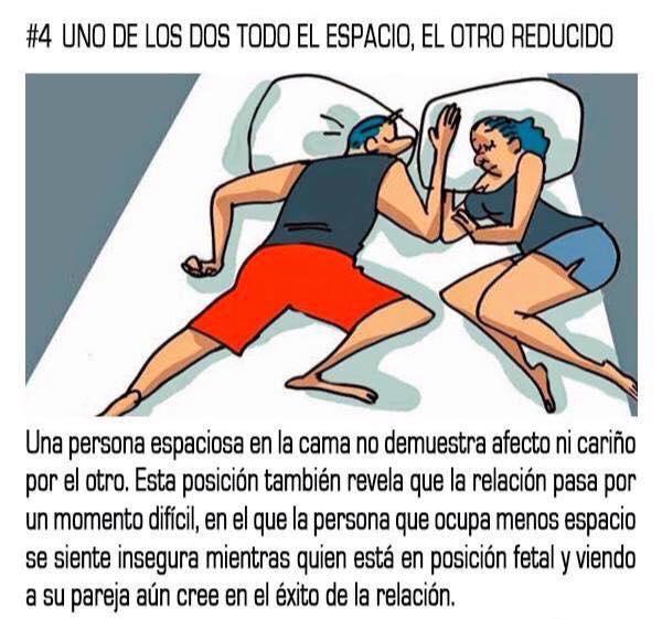 10 posturas mientras duermes que reflejan tu relación sentimental con tu pareja 04