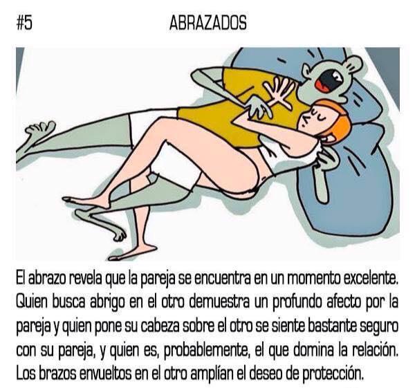 10 posturas mientras duermes que reflejan tu relación sentimental con tu pareja 05
