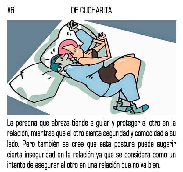 10 posturas mientras duermes que reflejan tu relación sentimental con tu pareja 06