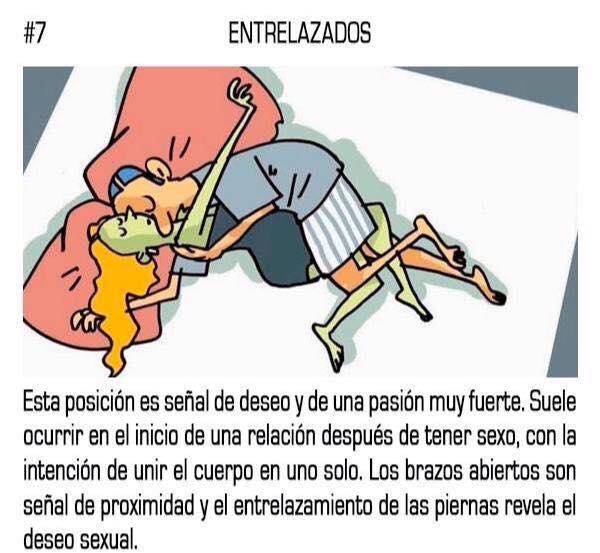 10 posturas mientras duermes que reflejan tu relación sentimental con tu pareja 07