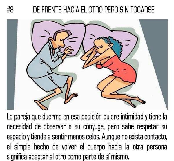 10 posturas mientras duermes que reflejan tu relación sentimental con tu pareja 08