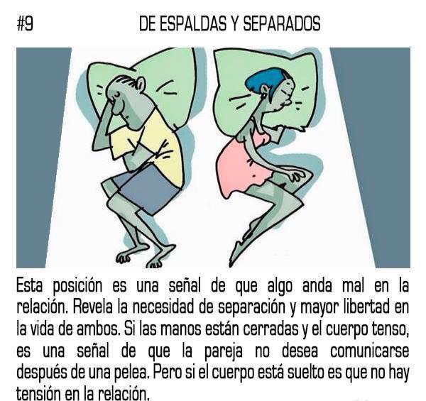 10 posturas mientras duermes que reflejan tu relación sentimental con tu pareja 09