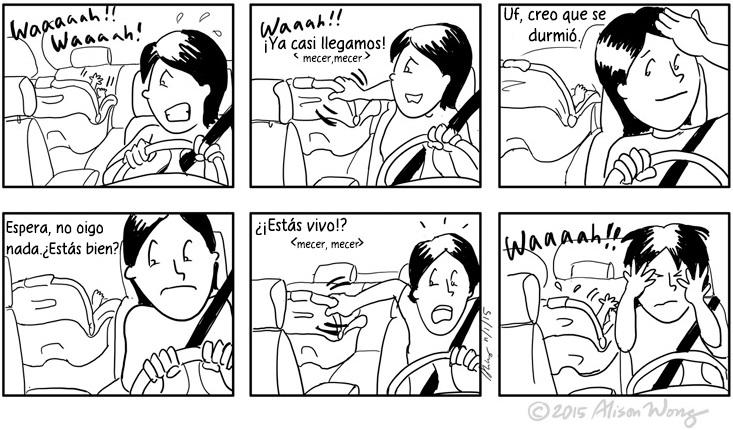 Cómics que retratan el primer año de maternidad 03