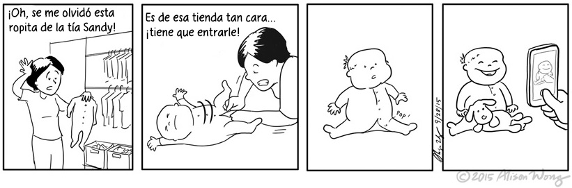 Cómics que retratan el primer año de maternidad 04