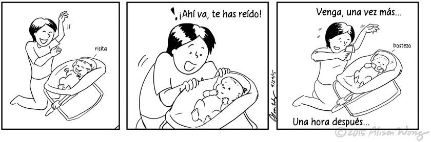 Cómics que retratan el primer año de maternidad 05