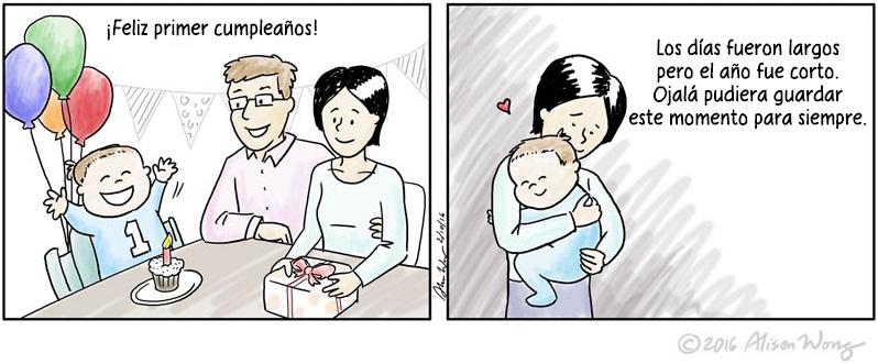Cómics que retratan el primer año de maternidad 09