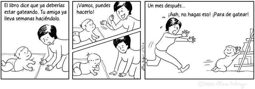 Cómics que retratan el primer año de maternidad 11