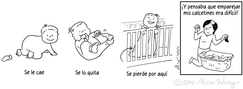 Cómics que retratan el primer año de maternidad 12