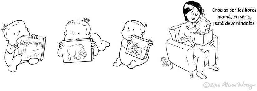 Cómics que retratan el primer año de maternidad 13
